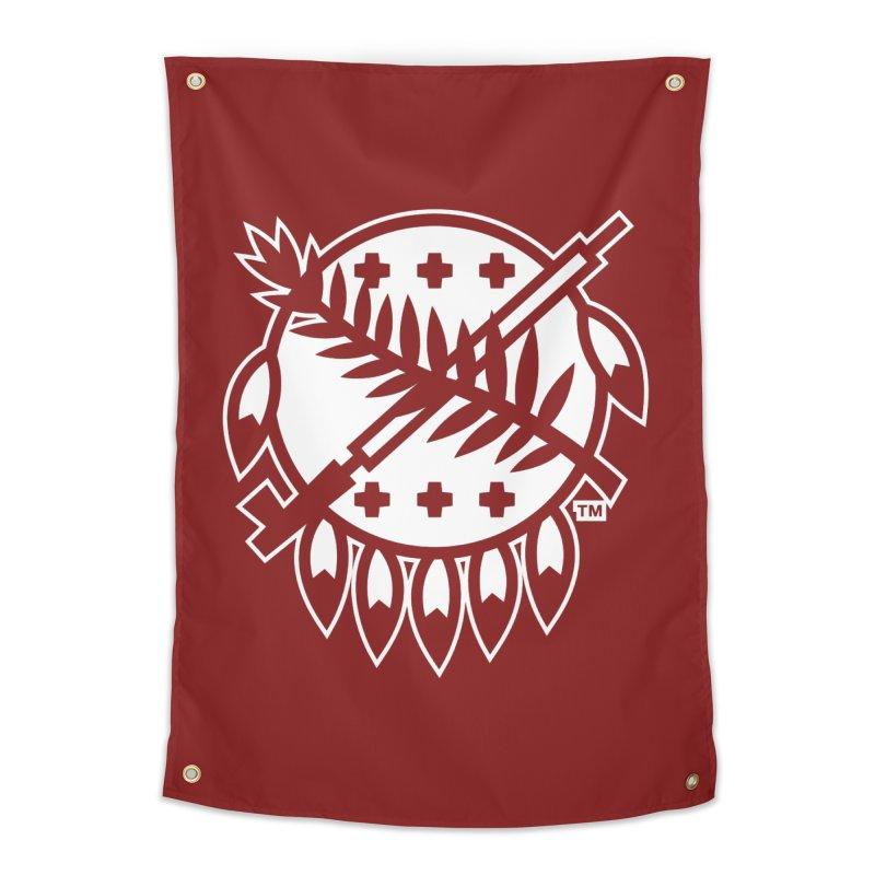 Osage Shield Home Tapestry by WalkingStick Design's Artist Shop