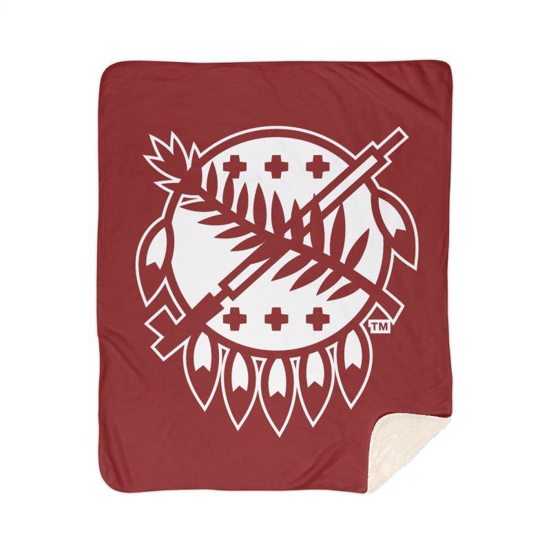 Osage Shield Home Blanket by WalkingStick Design's Artist Shop