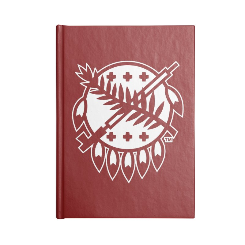 Osage Shield Accessories Notebook by walkingstickdesign's Artist Shop