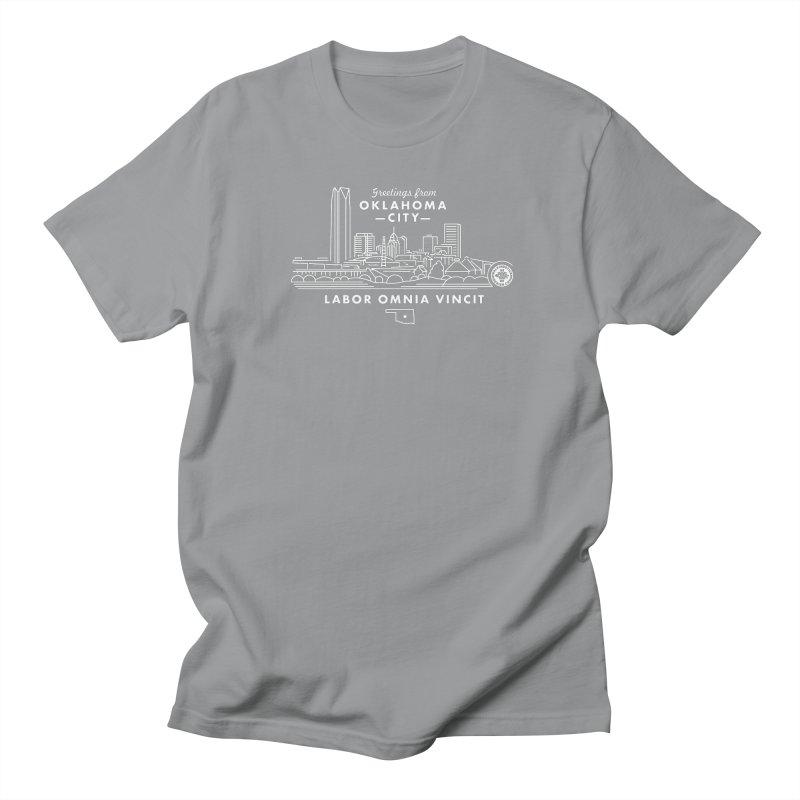 OKC Skyline Women's Unisex T-Shirt by walkingstickdesign's Artist Shop