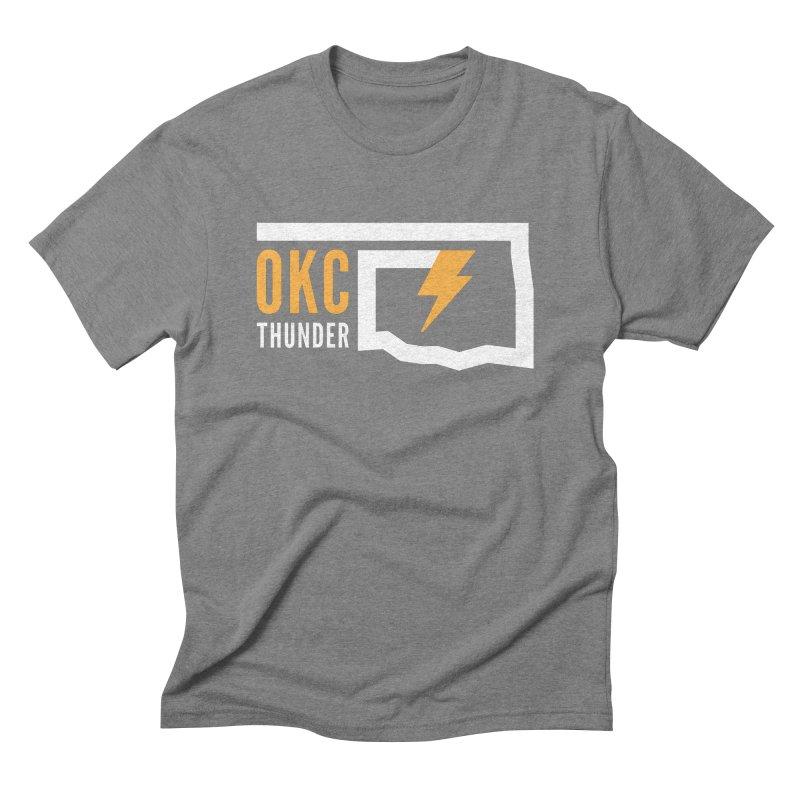 Thick Bolt Classic Men's Triblend T-shirt by walkingstickdesign's Artist Shop