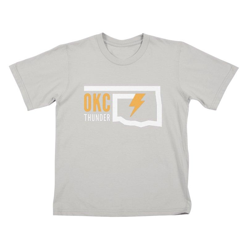 Thick Bolt Classic Kids T-shirt by walkingstickdesign's Artist Shop