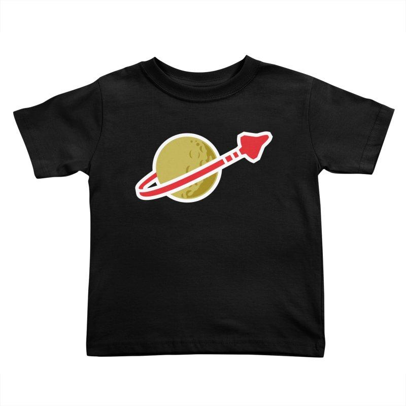Lego Space 80s Kids Toddler T-Shirt by walkingstickdesign's Artist Shop