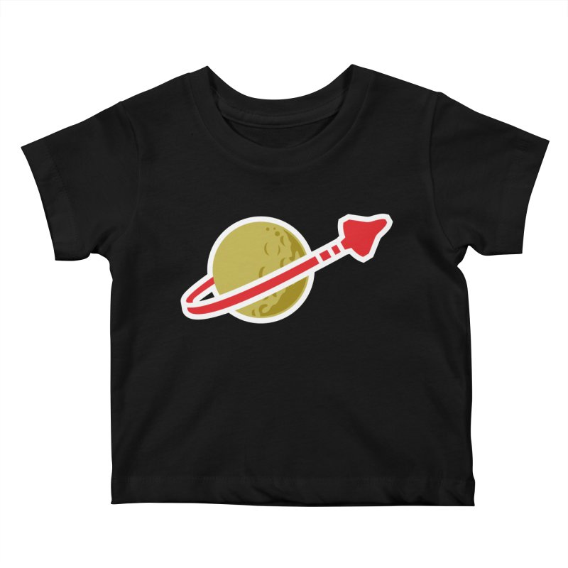 Lego Space 80s Kids Baby T-Shirt by walkingstickdesign's Artist Shop