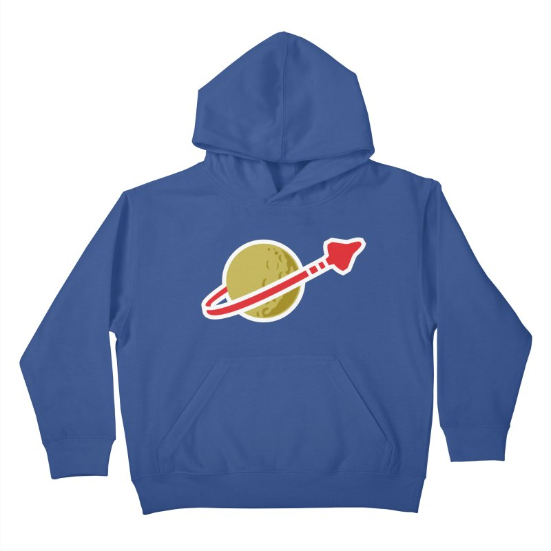 Lego Space 80s Kids Pullover Hoody by WalkingStick Design's Artist Shop