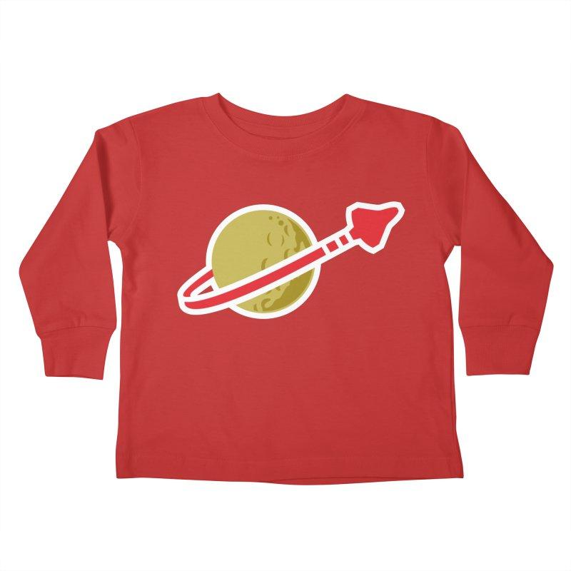 Lego Space 80s Kids Toddler Longsleeve T-Shirt by WalkingStick Design's Artist Shop