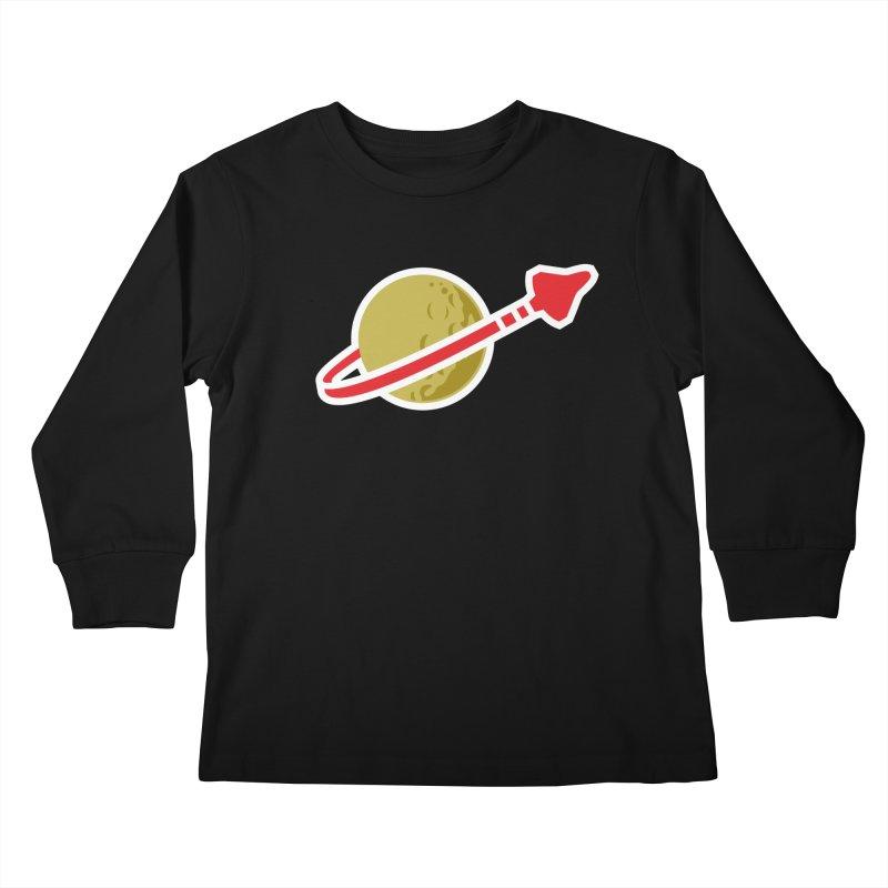 Lego Space 80s Kids Longsleeve T-Shirt by walkingstickdesign's Artist Shop