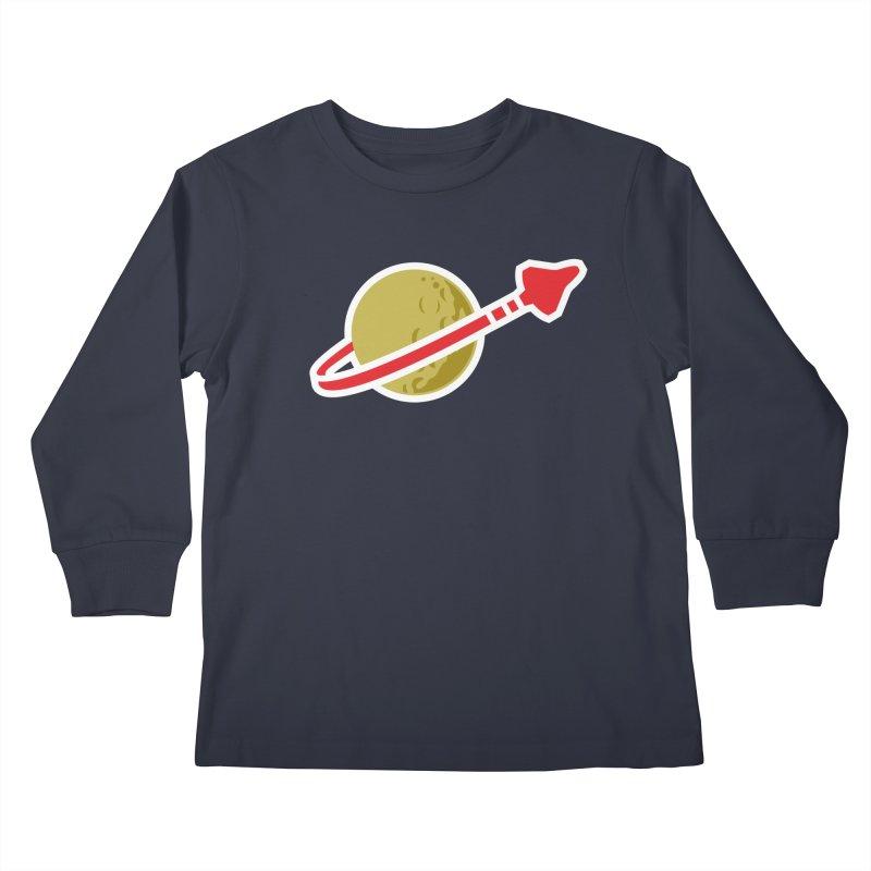 Lego Space 80s Kids Longsleeve T-Shirt by WalkingStick Design's Artist Shop