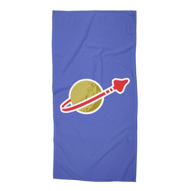 Lego Space 80s Accessories Beach Towel by WalkingStick Design's Artist Shop