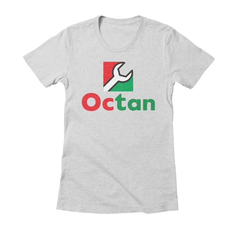 Octan Wrench Women's Fitted T-Shirt by walkingstickdesign's Artist Shop