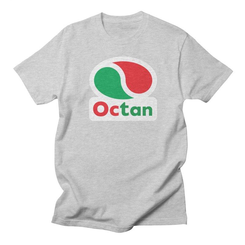Octan Logo Men's T-shirt by walkingstickdesign's Artist Shop