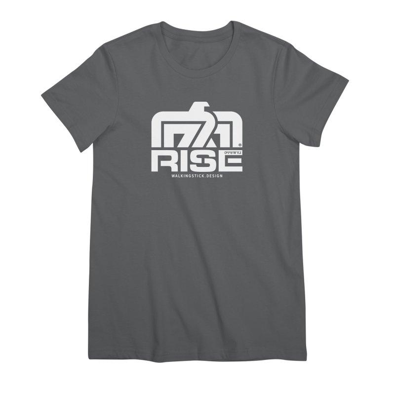 T-BIRD + WALKINGSTICK DESIGN CO. Women's T-Shirt by WalkingStick Design's Artist Shop