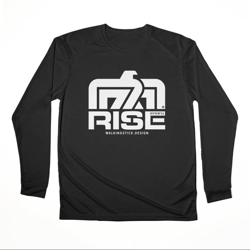 T-BIRD + WALKINGSTICK DESIGN CO. Men's Longsleeve T-Shirt by WalkingStick Design's Artist Shop