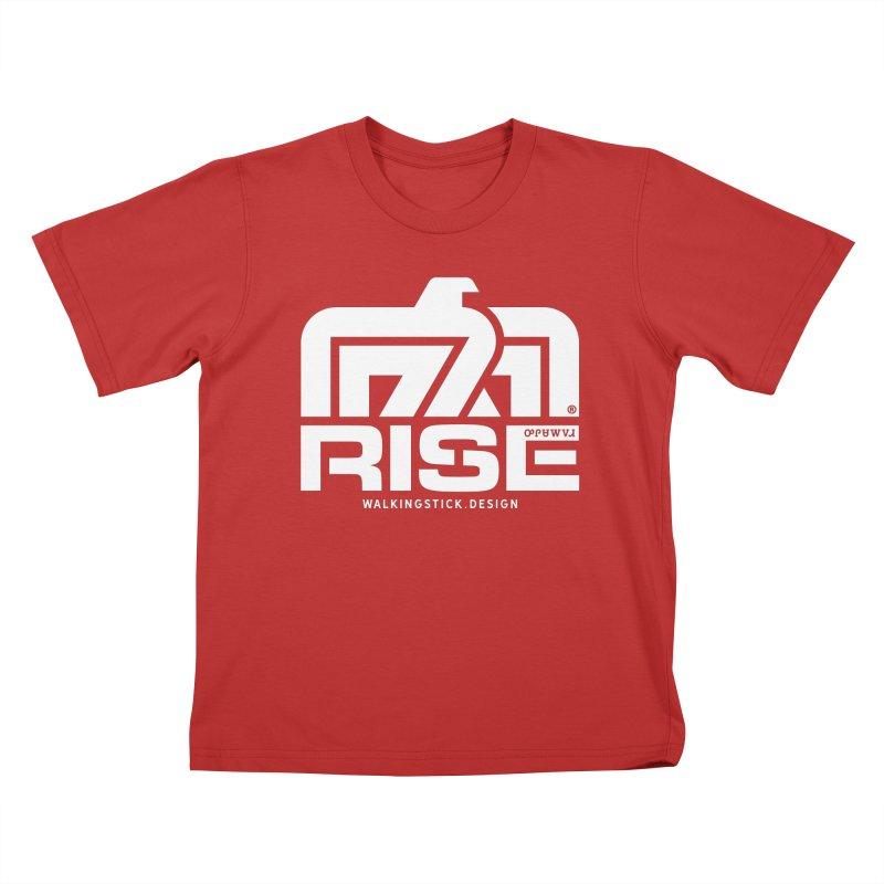 T-BIRD + WALKINGSTICK DESIGN CO. Kids T-Shirt by WalkingStick Design's Artist Shop