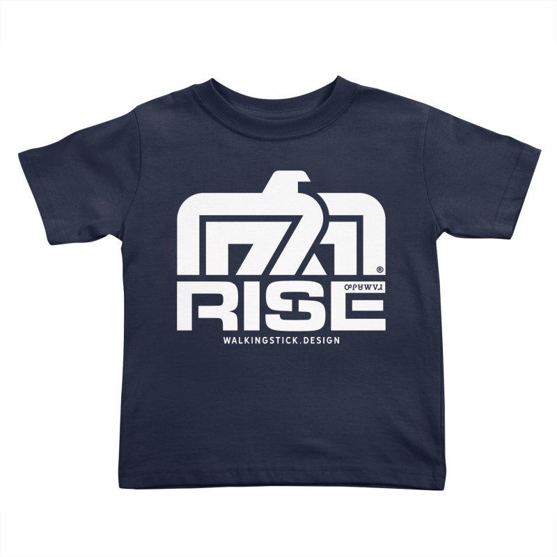 T-BIRD + WALKINGSTICK DESIGN CO. Kids Toddler T-Shirt by WalkingStick Design's Artist Shop