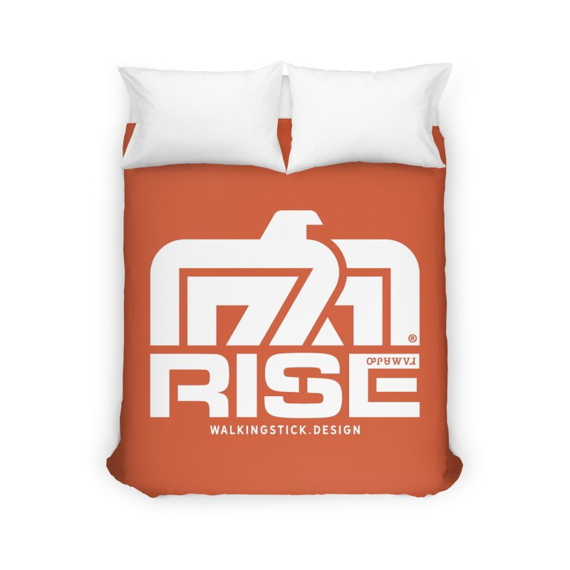 T-BIRD + WALKINGSTICK DESIGN CO. Home Duvet by WalkingStick Design's Artist Shop