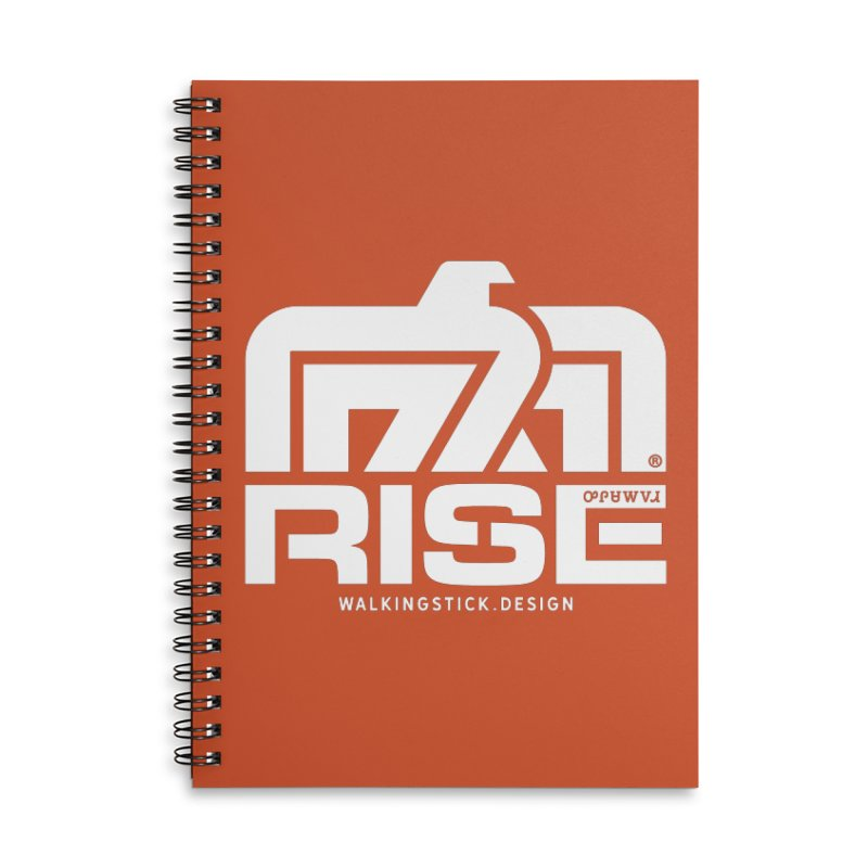 T-BIRD + WALKINGSTICK DESIGN CO. Accessories Notebook by WalkingStick Design's Artist Shop