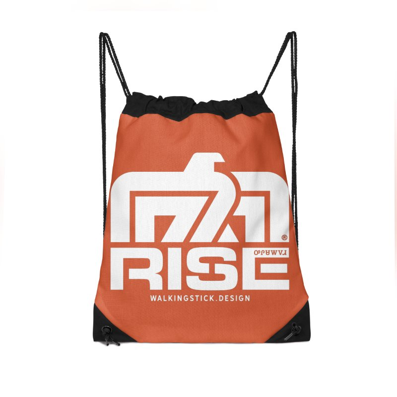 T-BIRD + WALKINGSTICK DESIGN CO. Accessories Bag by WalkingStick Design's Artist Shop