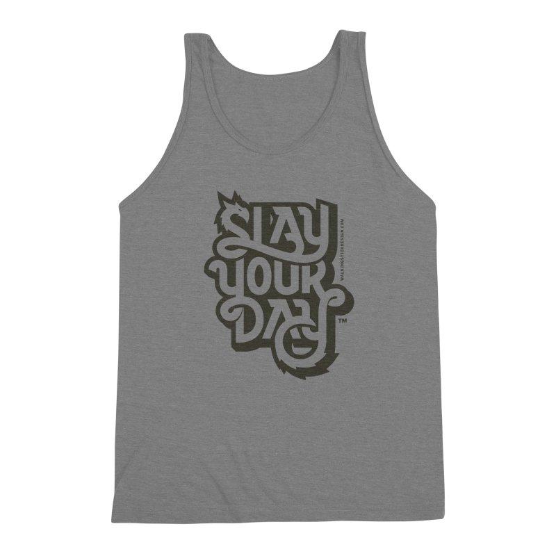 Slay Your Grey Men's Tank by WalkingStick Design's Artist Shop