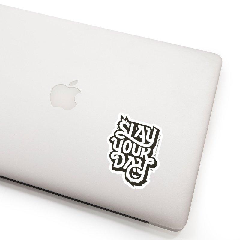 Slay Your Grey Accessories Sticker by WalkingStick Design's Artist Shop