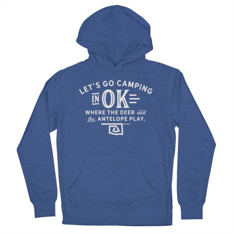 OK Camping Women's Pullover Hoody by walkingstickdesign's Artist Shop