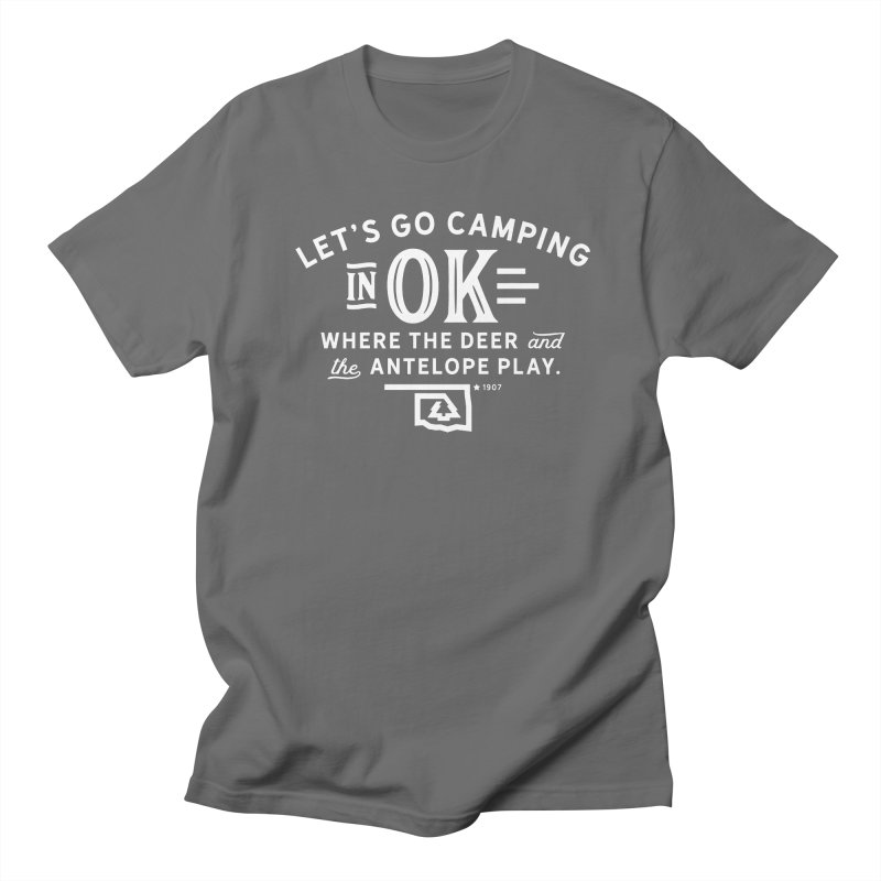 OK Camping Women's Regular Unisex T-Shirt by WalkingStick Design's Artist Shop