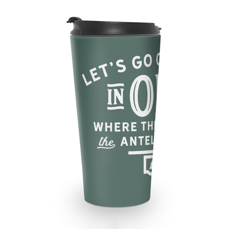 OK Camping Accessories Travel Mug by WalkingStick Design's Artist Shop