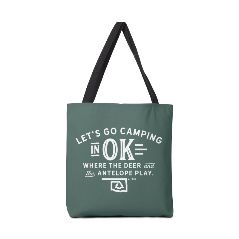 OK Camping Accessories Bag by walkingstickdesign's Artist Shop