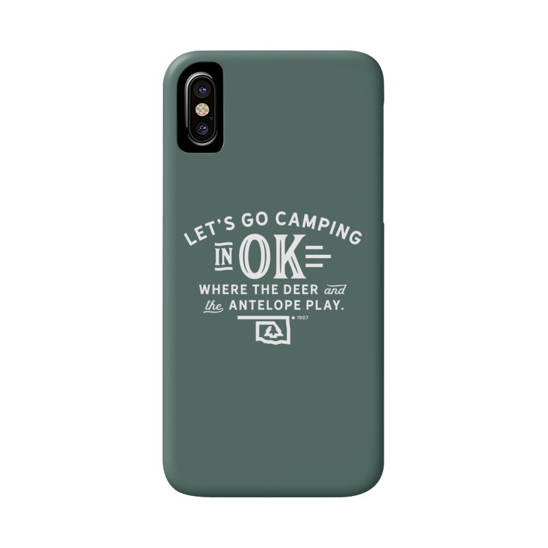 OK Camping Accessories Phone Case by walkingstickdesign's Artist Shop