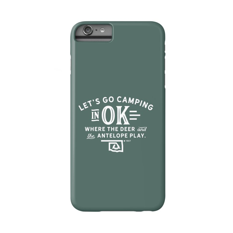 OK Camping Accessories Phone Case by WalkingStick Design's Artist Shop