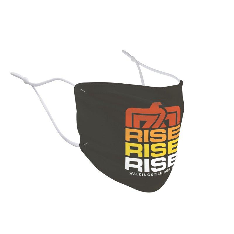 T-BIRD RISE UP + WALKINGSTICK DESIGN CO. Accessories Face Mask by WalkingStick Design's Artist Shop