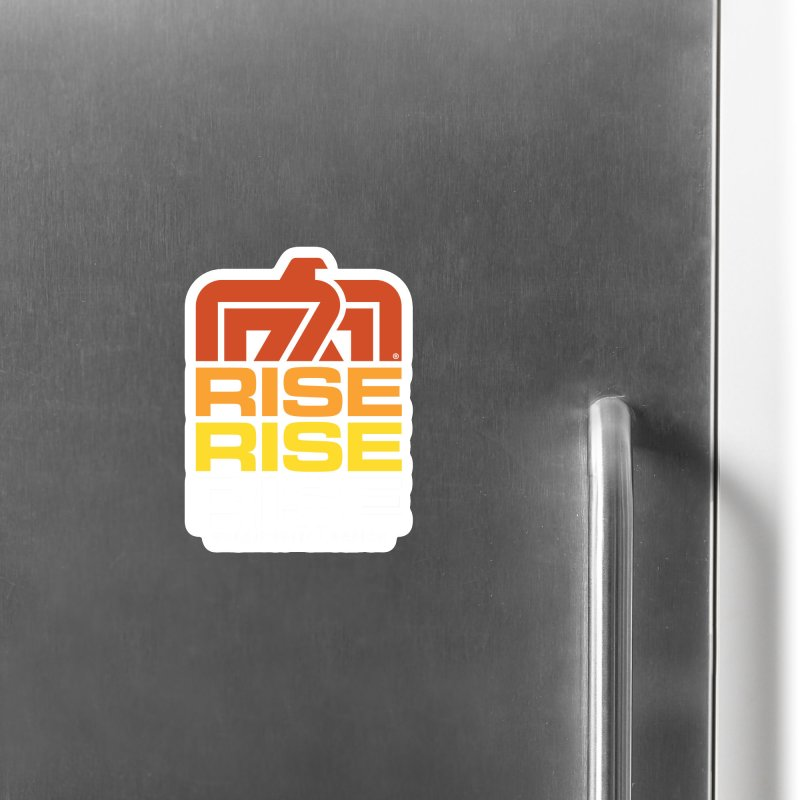 T-BIRD RISE UP + WALKINGSTICK DESIGN CO. Accessories Magnet by WalkingStick Design's Artist Shop