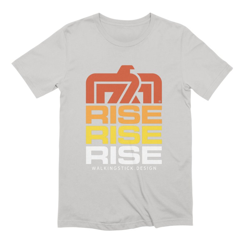T-BIRD RISE UP + WALKINGSTICK DESIGN CO. Men's T-Shirt by WalkingStick Design's Artist Shop