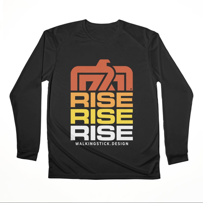 T-BIRD RISE UP + WALKINGSTICK DESIGN CO. Women's Longsleeve T-Shirt by WalkingStick Design's Artist Shop