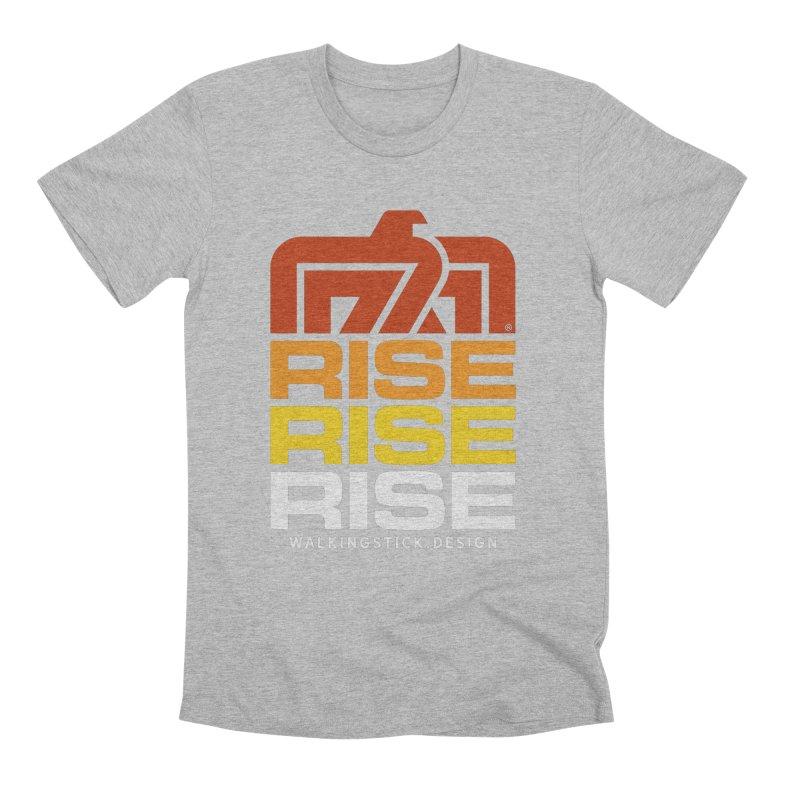 T-BIRD RISE UP + WALKINGSTICK DESIGN CO. Men's T-Shirt by WalkingStick Design's Artist Shop