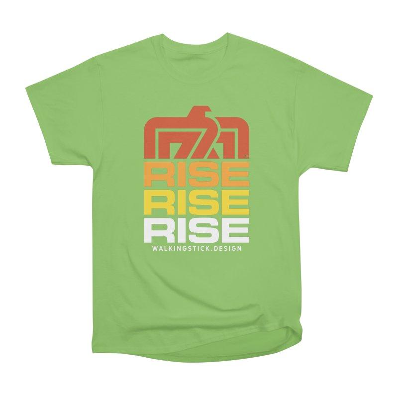 T-BIRD RISE UP + WALKINGSTICK DESIGN CO. Women's T-Shirt by WalkingStick Design's Artist Shop