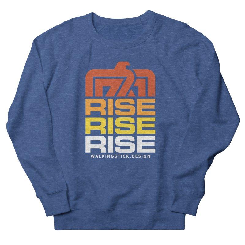 T-BIRD RISE UP + WALKINGSTICK DESIGN CO. Men's Sweatshirt by WalkingStick Design's Artist Shop