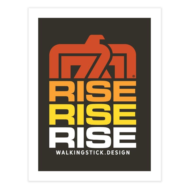 T-BIRD RISE UP + WALKINGSTICK DESIGN CO. Home Fine Art Print by WalkingStick Design's Artist Shop