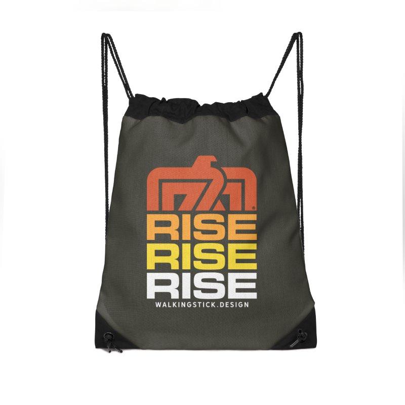 T-BIRD RISE UP + WALKINGSTICK DESIGN CO. Accessories Bag by WalkingStick Design's Artist Shop