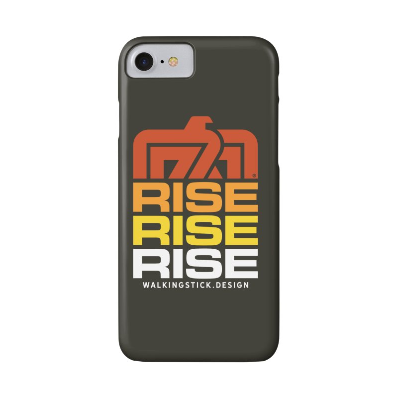 T-BIRD RISE UP + WALKINGSTICK DESIGN CO. Accessories Phone Case by WalkingStick Design's Artist Shop