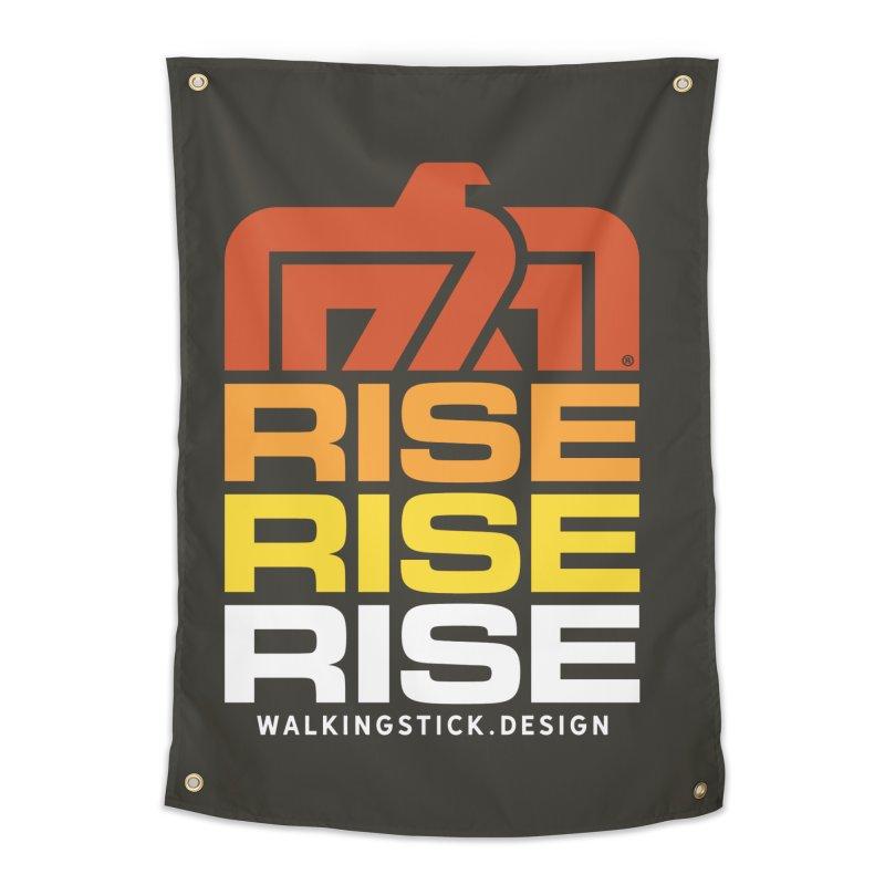 T-BIRD RISE UP + WALKINGSTICK DESIGN CO. Home Tapestry by WalkingStick Design's Artist Shop