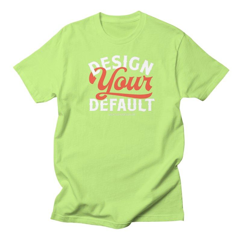 Design Your Default Men's T-shirt by walkingstickdesign's Artist Shop