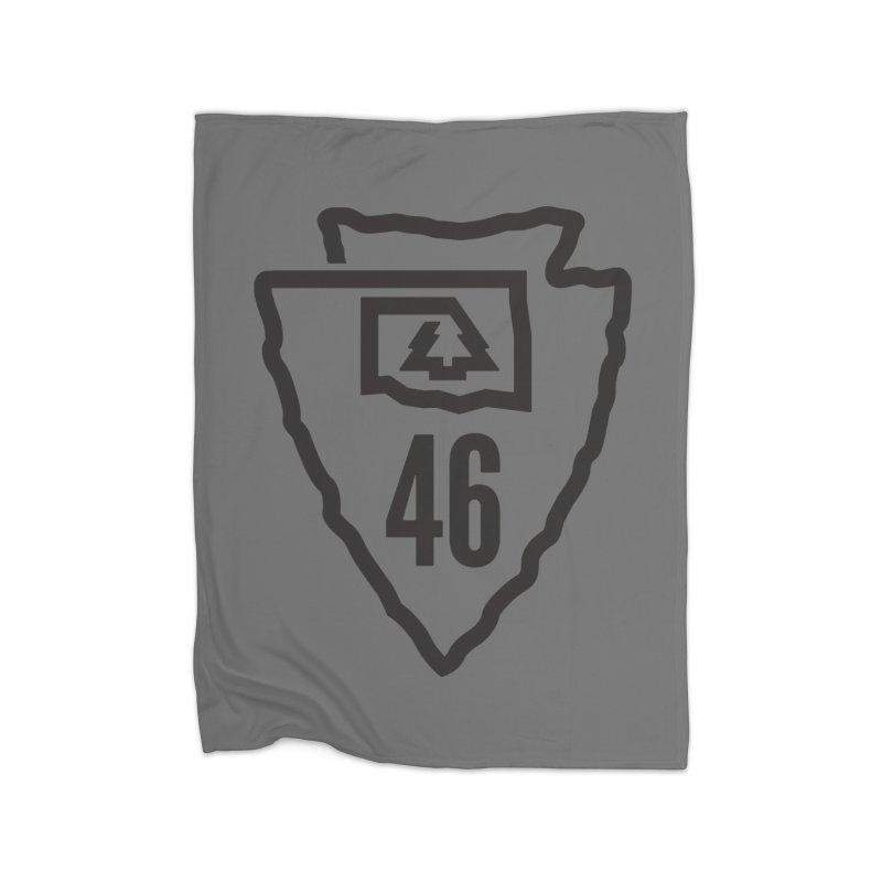 Okla Camp Shirt Home Blanket by walkingstickdesign's Artist Shop