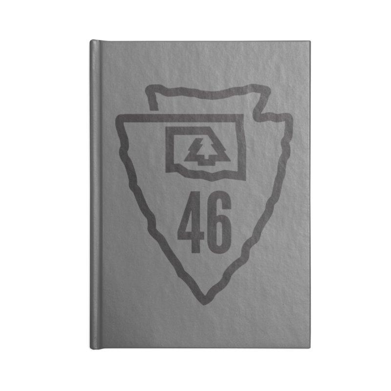 Okla Camp Shirt Accessories Notebook by walkingstickdesign's Artist Shop