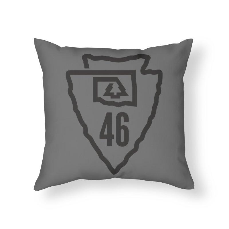 Okla Camp Shirt Home Throw Pillow by walkingstickdesign's Artist Shop