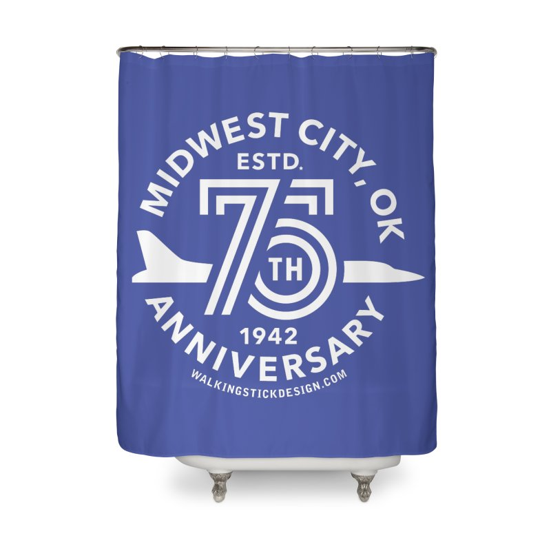 MWC 75 Home Shower Curtain by walkingstickdesign's Artist Shop