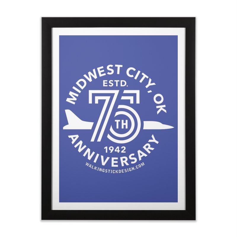 MWC 75 Home Framed Fine Art Print by WalkingStick Design's Artist Shop