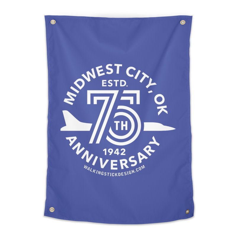 MWC 75 Home Tapestry by walkingstickdesign's Artist Shop