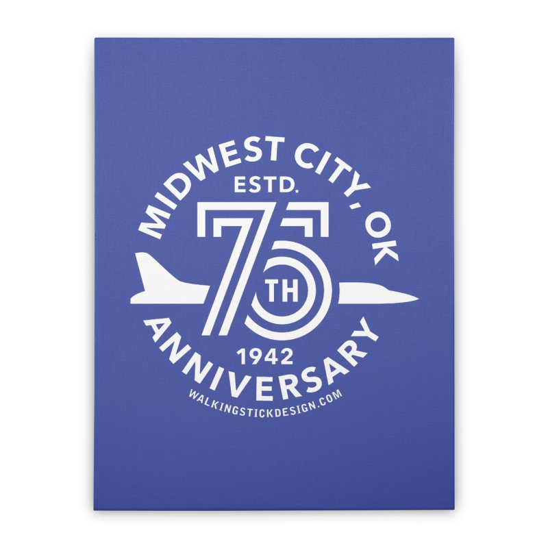 MWC 75 Home Stretched Canvas by WalkingStick Design's Artist Shop