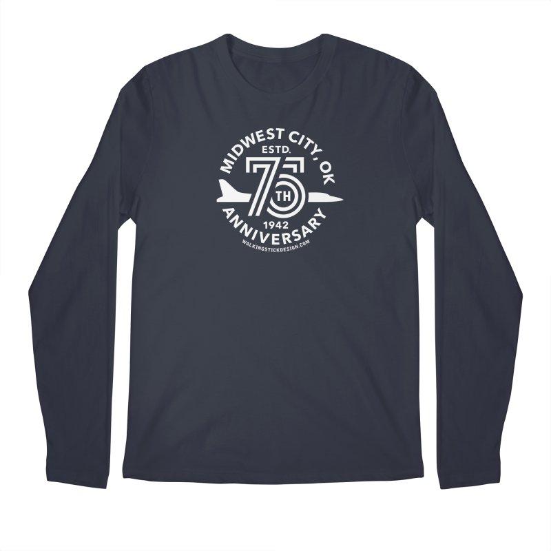 MWC 75 Men's Longsleeve T-Shirt by walkingstickdesign's Artist Shop